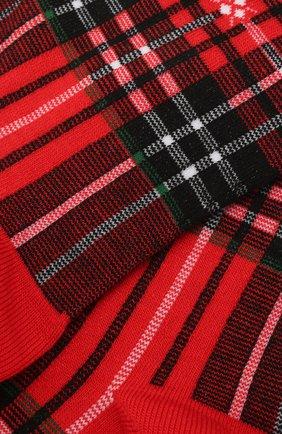 Мужские носки из хлопка и шерсти BURLINGTON красного цвета, арт. 21908 | Фото 2