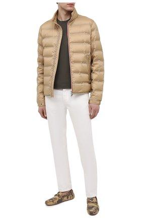 Мужские кожаные мокасины TOD'S темно-бежевого цвета, арт. XXM0GW0547LPKP | Фото 2