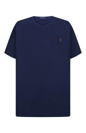 Мужская хлопковая футболка POLO RALPH LAUREN темно-синего цвета, арт. 711746817/PRL BS | Фото 1
