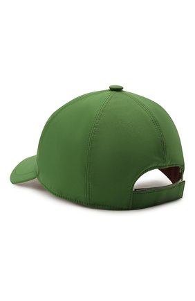 Детская бейсболка LORO PIANA зеленого цвета, арт. FAE8580 | Фото 2