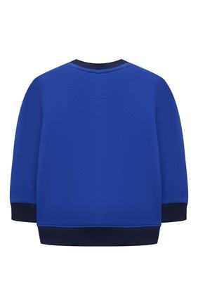 Детский комплект из свитшота и брюк POLO RALPH LAUREN синего цвета, арт. 320836008 | Фото 3