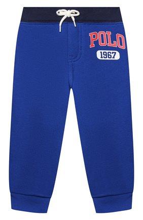 Детский комплект из свитшота и брюк POLO RALPH LAUREN синего цвета, арт. 320836008 | Фото 4