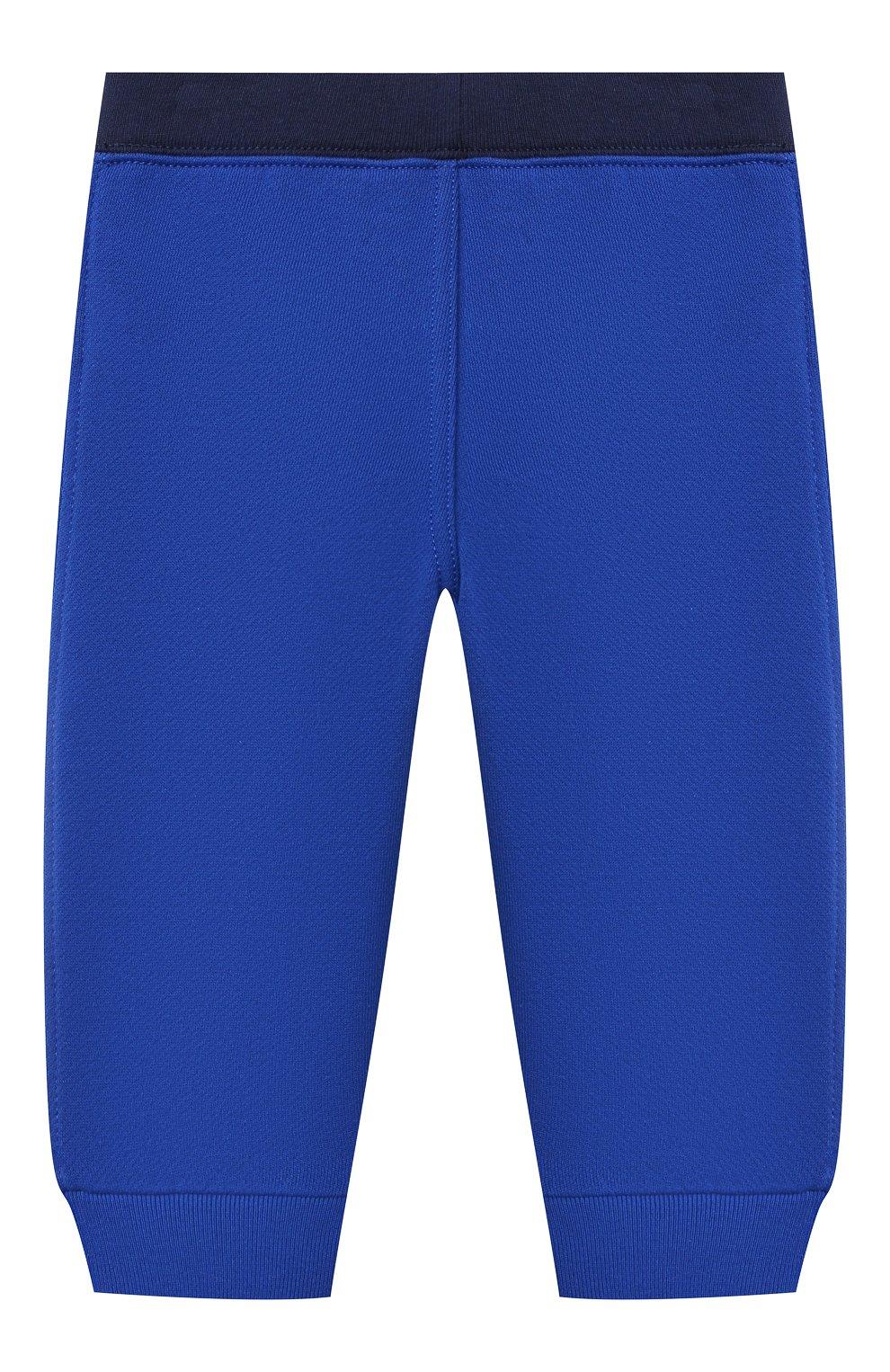 Детский комплект из свитшота и брюк POLO RALPH LAUREN синего цвета, арт. 320836008 | Фото 5