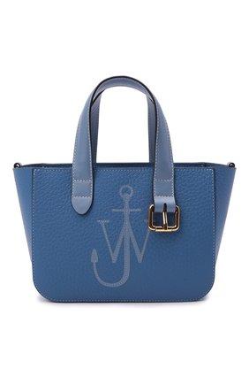 Женский сумка-тоут belt mini JW ANDERSON голубого цвета, арт. HB0360 LA0060 | Фото 1