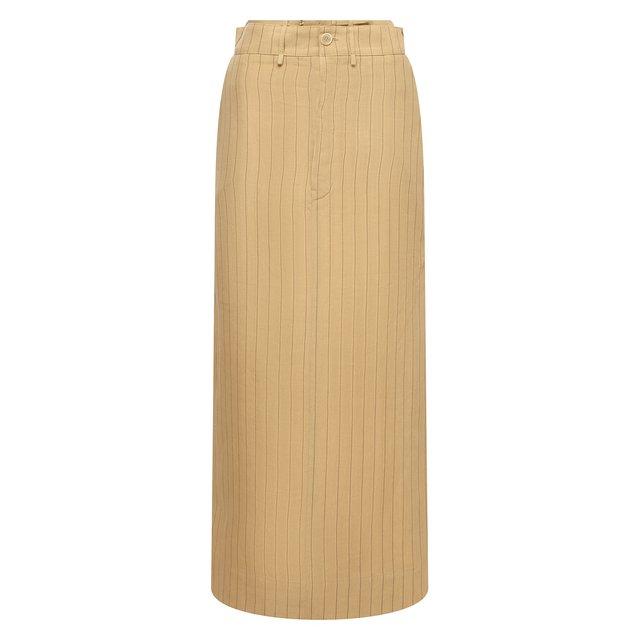 Льняная юбка Jacquemus