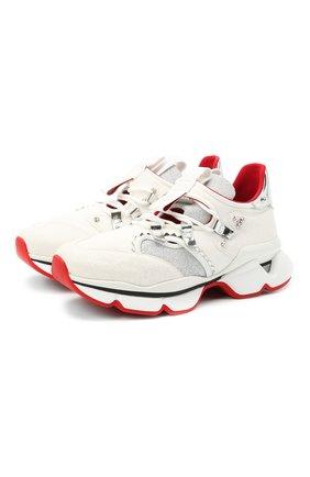 Комбинированные кроссовки Red Runner Donna | Фото №1