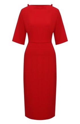 Женское платье VALENTINO красного цвета, арт. VB3VAV9565C | Фото 1