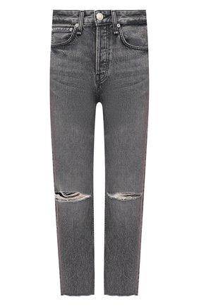 Женские джинсы RAG&BONE серого цвета, арт. WDD20H2747W5ZU | Фото 1