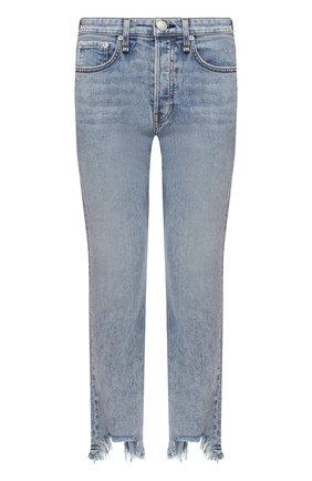 Женские джинсы RAG&BONE голубого цвета, арт. WDD20H2747N6TH | Фото 1