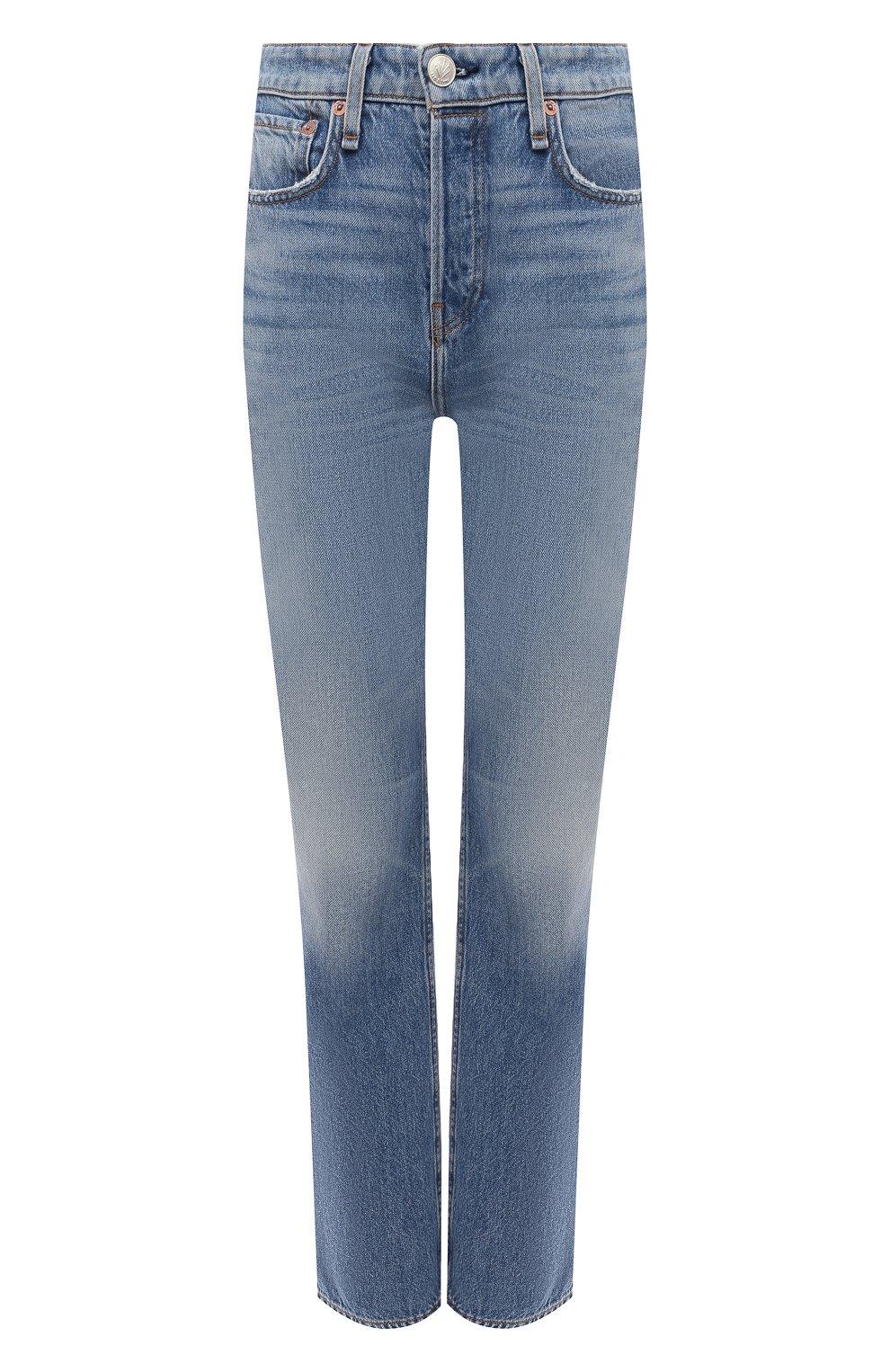 Женские джинсы RAG&BONE синего цвета, арт. WDD20H2746B1AQ | Фото 1