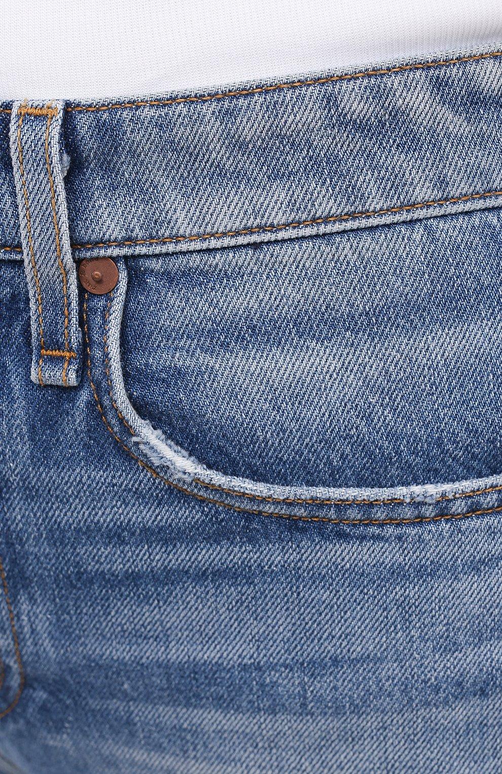 Женские джинсы RAG&BONE синего цвета, арт. WDD20H2746B1AQ | Фото 5