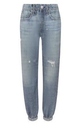 Женские джинсы RAG&BONE голубого цвета, арт. WCW20H7009C109   Фото 1