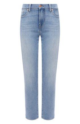 Женские джинсы 7 FOR ALL MANKIND голубого цвета, арт. JSVYA500IH | Фото 1
