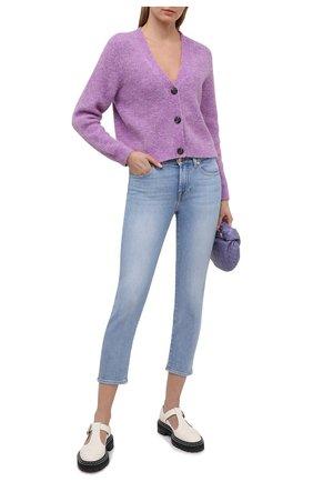 Женские джинсы 7 FOR ALL MANKIND голубого цвета, арт. JSVYA500IH | Фото 2