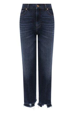 Женские джинсы 7 FOR ALL MANKIND синего цвета, арт. JSA7A910LP | Фото 1