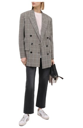 Женские кожаные кеды steven-d PREMIATA серого цвета, арт. STEVEND/VAR4717   Фото 2
