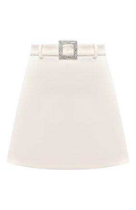 Женская юбка GIUSEPPE DI MORABITO белого цвета, арт. SS21052SK-109 | Фото 1