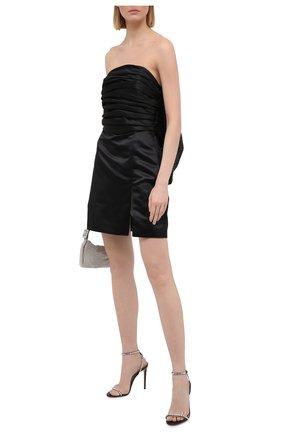Женское платье GIUSEPPE DI MORABITO черного цвета, арт. SS21187DR-83 | Фото 2