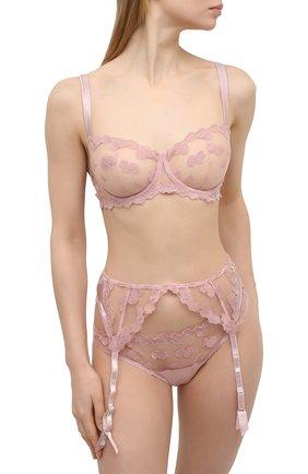 Женский пояс для чулок FLEUR OF ENGLAND розового цвета, арт. FT1751   Фото 2