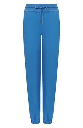 Женские льняные джоггеры LORO PIANA синего цвета, арт. FAI0340 | Фото 1