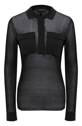 Женский пуловер TOM FORD черного цвета, арт. MAK1047-YAX292 | Фото 1