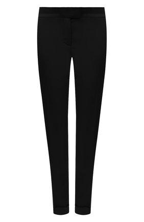 Женские шерстяные брюки TOM FORD черного цвета, арт. PAW083-FAX733 | Фото 1
