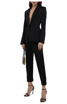 Женские шерстяные брюки TOM FORD черного цвета, арт. PAW083-FAX733 | Фото 2