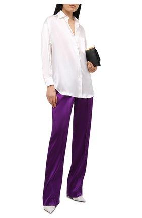 Женская шелковая рубашка TOM FORD белого цвета, арт. CA3189-FAX824   Фото 2