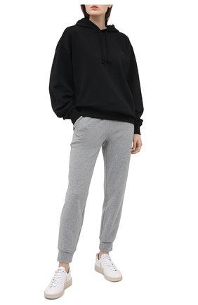 Женские джоггеры VINCE светло-серого цвета, арт. V712883623 | Фото 2