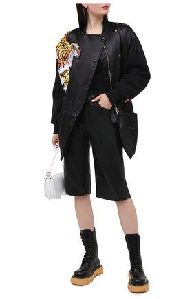 Женская куртка KENZO черного цвета, арт. FB52BL1255KC | Фото 2