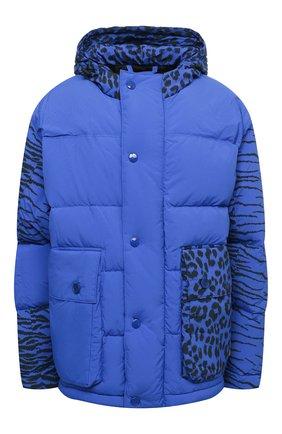Женский пуховая куртка KENZO синего цвета, арт. FB520U0739KD | Фото 1