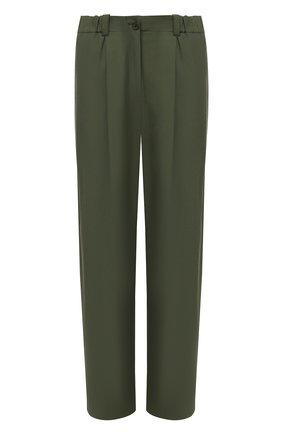 Женские брюки KENZO хаки цвета, арт. FB52PA0275AI | Фото 1