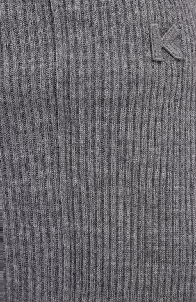 Женская юбка KENZO серого цвета, арт. FB52JU5523AD | Фото 5