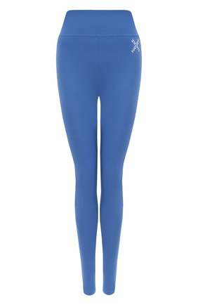 Женские леггинсы KENZO синего цвета, арт. FA62PA7294SC | Фото 1