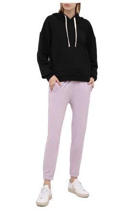 Женские хлопковые джоггеры JAMES PERSE розового цвета, арт. WXA1821 | Фото 2