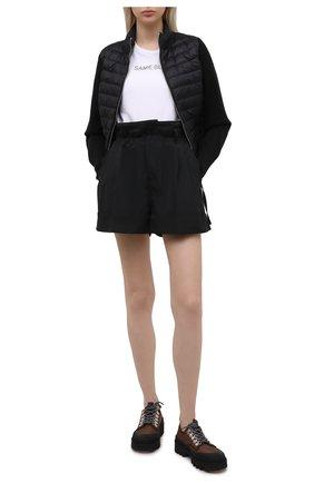 Женские шорты MONCLER черного цвета, арт. G1-093-2A747-00-57455 | Фото 2