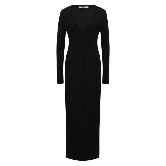 Платье из вискозы Valentino
