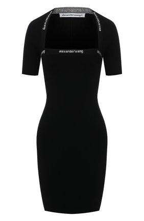 Женское платье ALEXANDERWANG.T черного цвета, арт. 4KC1216037 | Фото 1