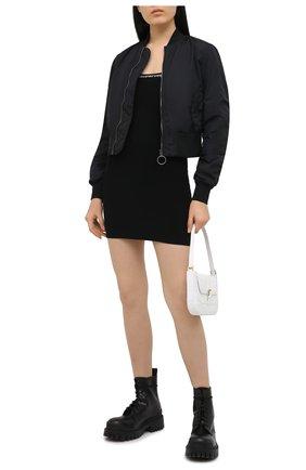 Женское платье ALEXANDERWANG.T черного цвета, арт. 4KC1216037 | Фото 2