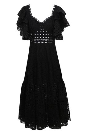 Женское хлопковое платье CHARO RUIZ IBIZA черного цвета, арт. 213613 | Фото 1