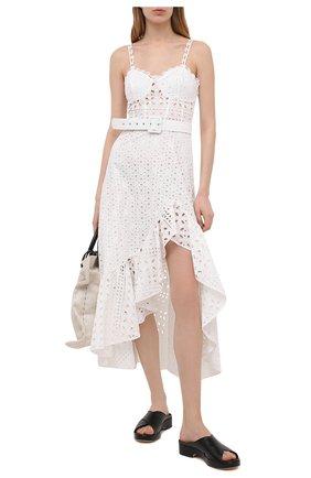 Женское хлопковое платье CHARO RUIZ IBIZA белого цвета, арт. 213611 | Фото 2