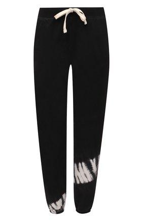 Женские хлопковые джоггеры ELECTRIC&ROSE черно-белого цвета, арт. LFBT20-CREST | Фото 1