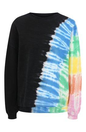 Женский хлопковый свитшот ELECTRIC&ROSE разноцветного цвета, арт. LFCV06-BEAM | Фото 1