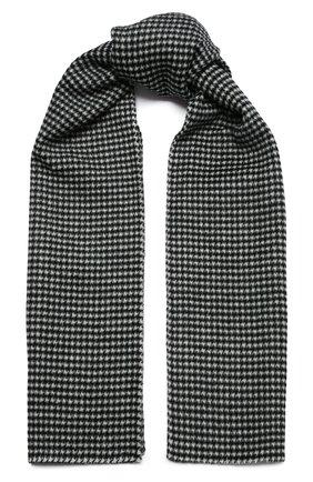 Женский шарф из шерсти и кашемира TOTÊME серого цвета, арт. 211-858-716   Фото 1