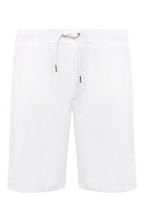 Мужские хлопковые шорты RALPH LAUREN белого цвета, арт. 790786107 | Фото 1