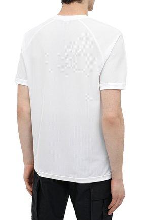 Мужская футболка GIORGIO ARMANI белого цвета, арт. 3KSM74/SJFJZ | Фото 4