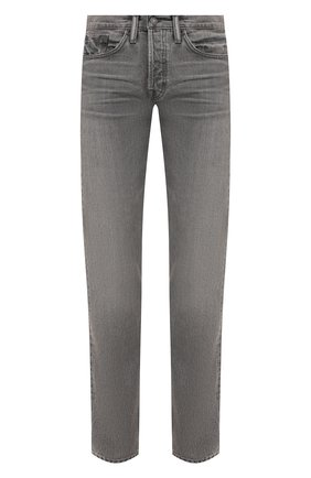 Мужские джинсы TOM FORD светло-серого цвета, арт. BWJ40/TFD002 | Фото 1