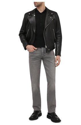 Мужские джинсы TOM FORD светло-серого цвета, арт. BWJ40/TFD002 | Фото 2