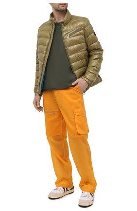 Мужские брюки-карго 2 moncler 1952 MONCLER GENIUS оранжевого цвета, арт. G1-092-2A724-00-M1171 | Фото 2