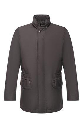 Мужская куртка barber-gf MOORER темно-серого цвета, арт. BARBER-GF/M0UGI100008-TEPA012 | Фото 1